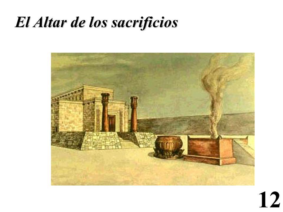 El Altar de los sacrificios