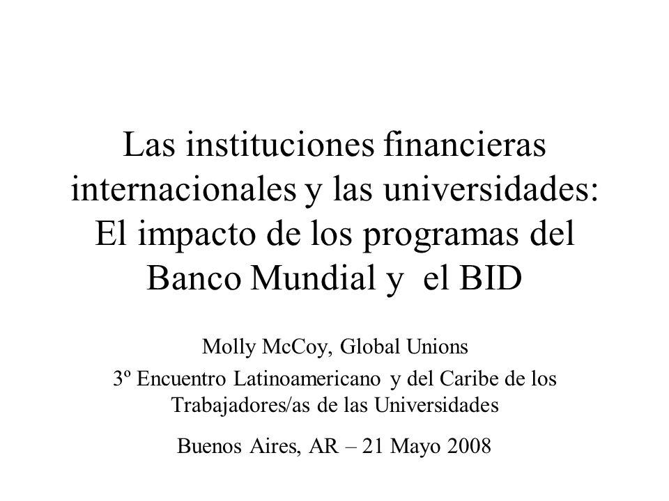 Molly McCoy, Global Unions