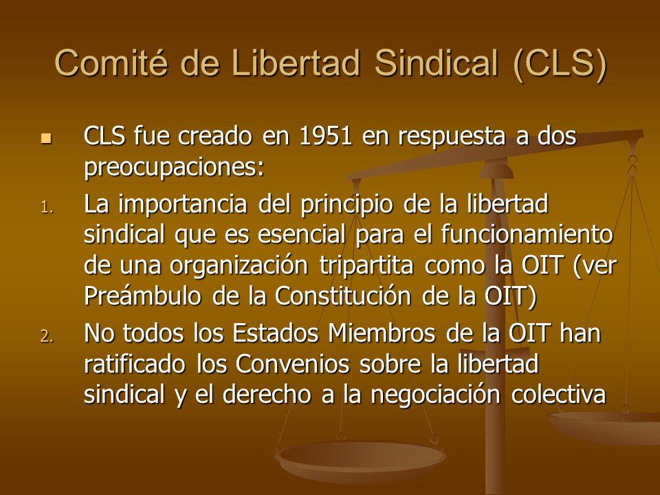 Comité de Libertad Sindical (CLS)