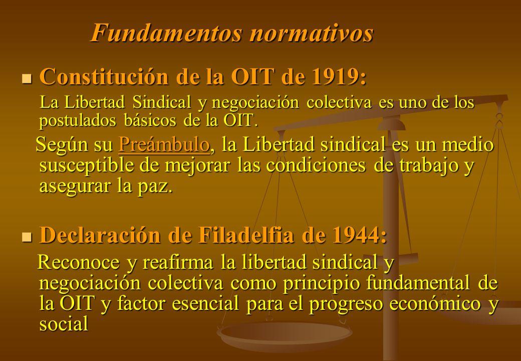 Fundamentos normativos