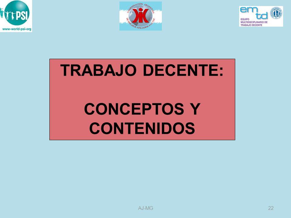 CONCEPTOS Y CONTENIDOS