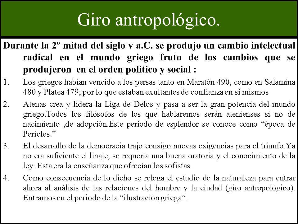 Giro antropológico.