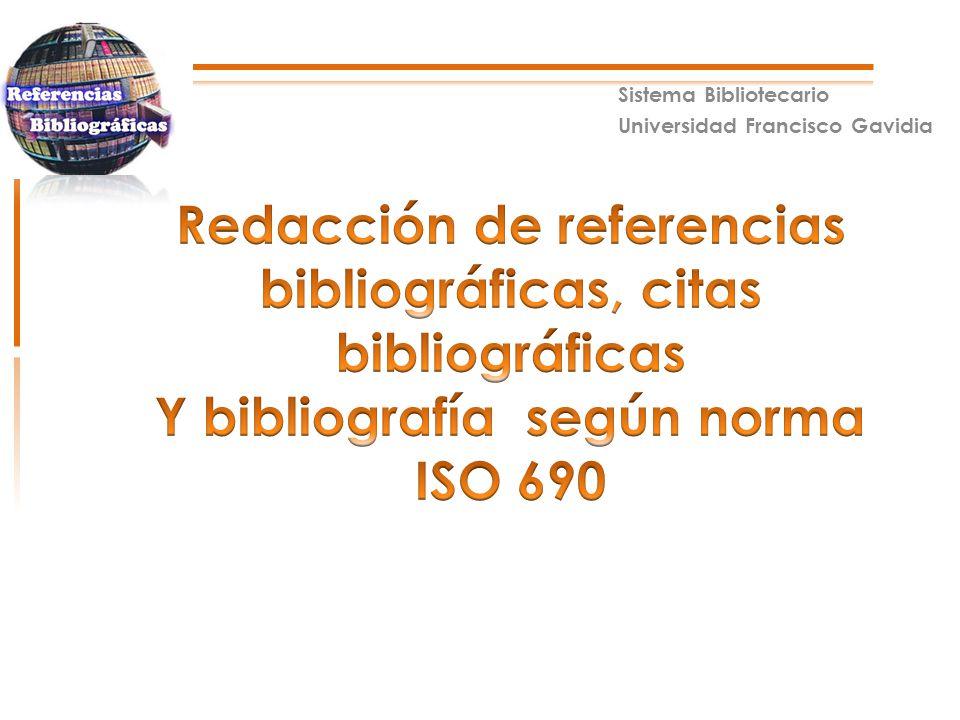 Sistema europeo de citas bibliograficas