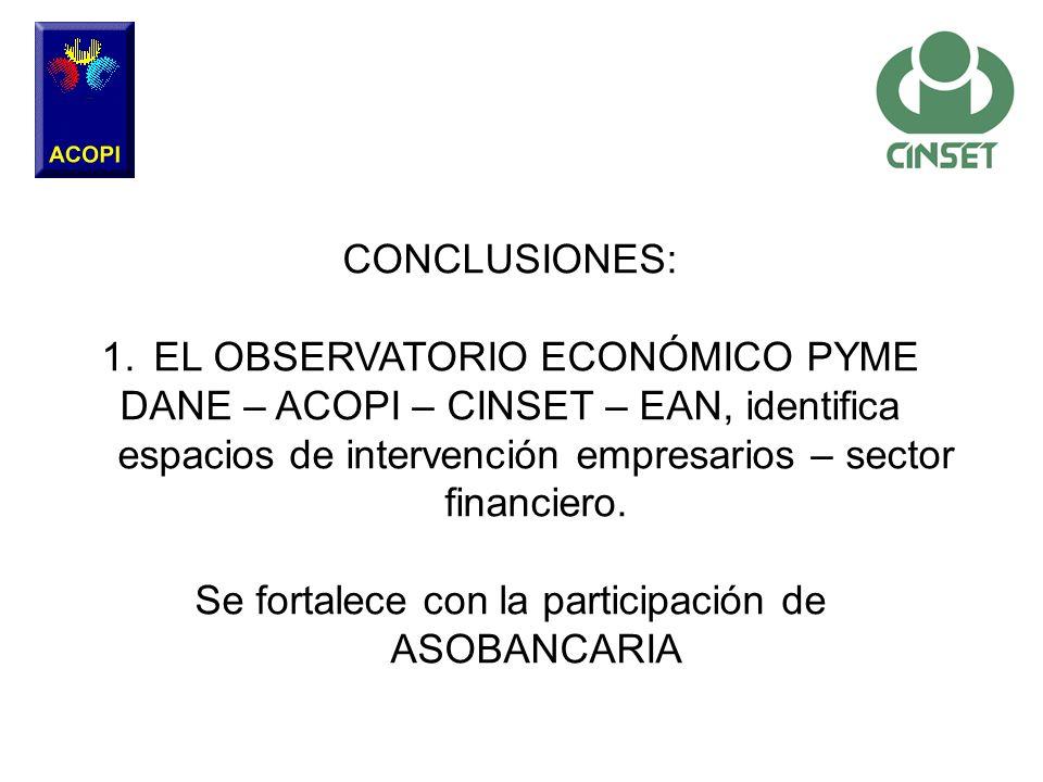 EL OBSERVATORIO ECONÓMICO PYME