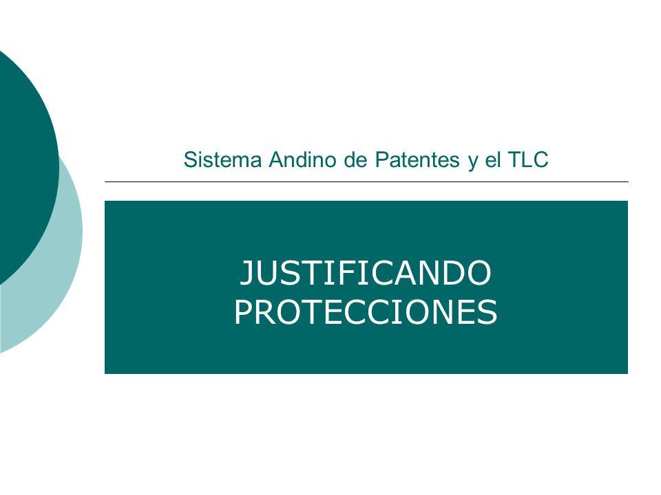 Sistema Andino de Patentes y el TLC