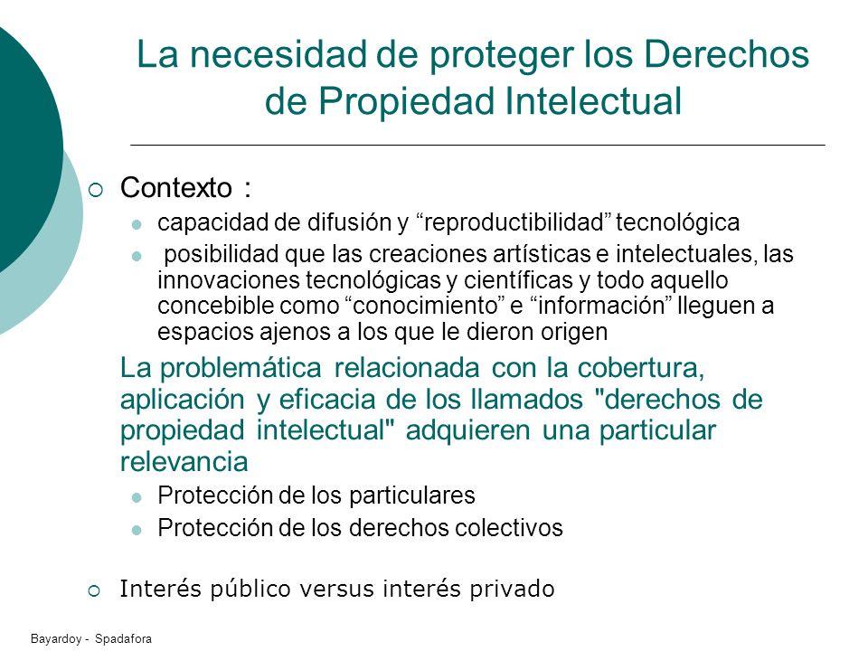 La necesidad de proteger los Derechos de Propiedad Intelectual