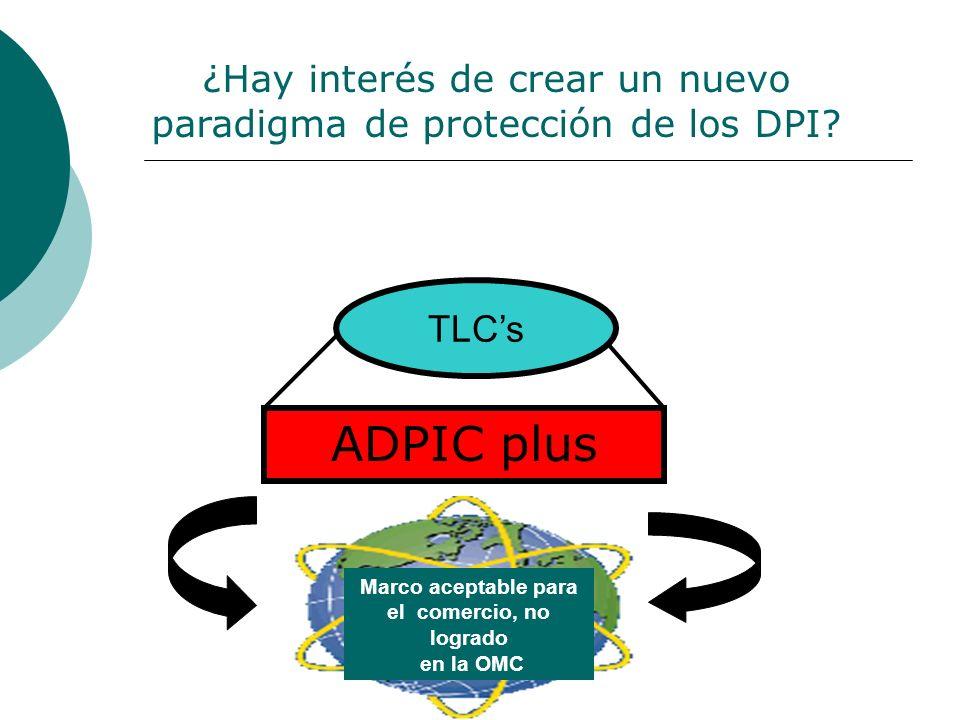 ¿Hay interés de crear un nuevo paradigma de protección de los DPI