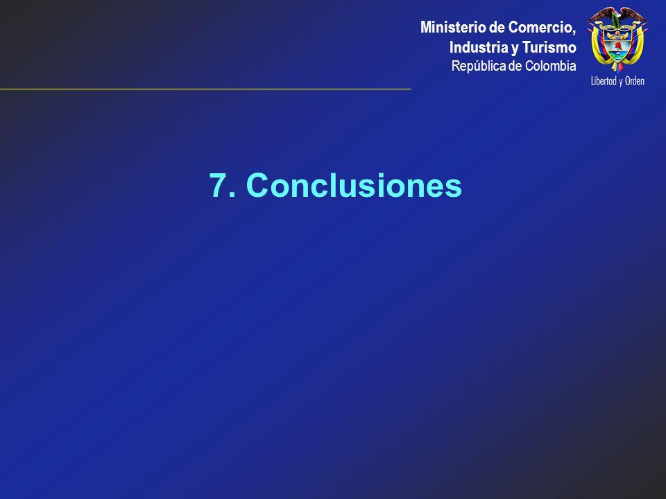 7. Conclusiones