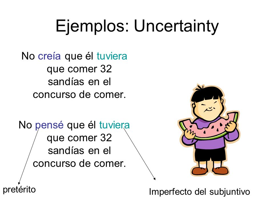 Ejemplos: Uncertainty