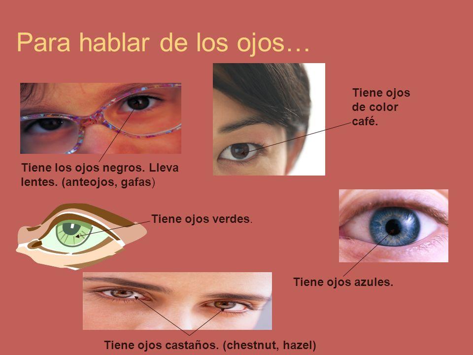Para hablar de los ojos…
