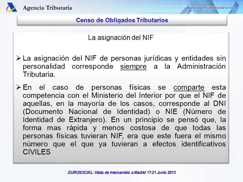 El censo de obligados tributarios ppt descargar for De que se encarga el ministerio del interior