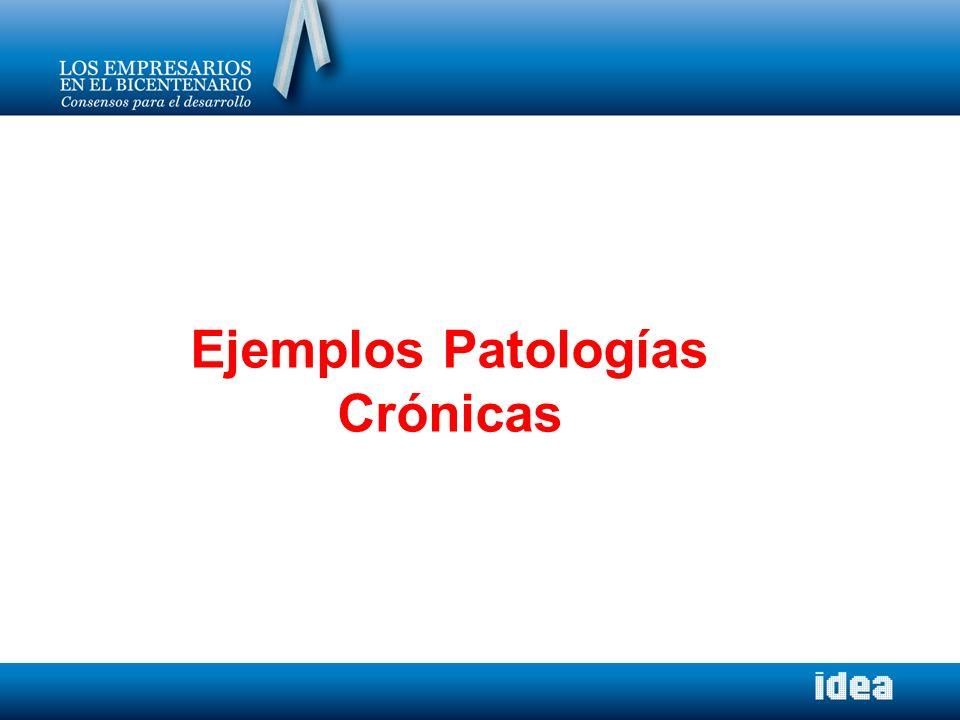 Ejemplos Patologías Crónicas