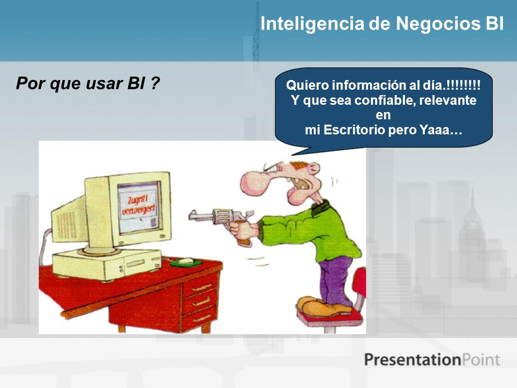 Inteligencia de Negocios BI