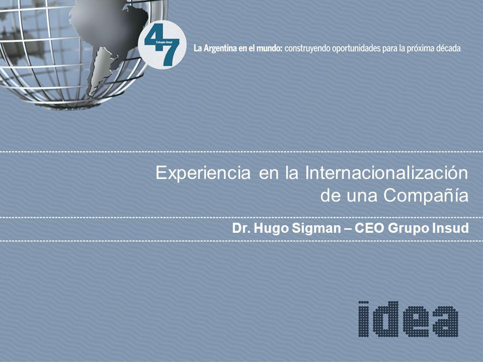Experiencia en la Internacionalización de una Compañía