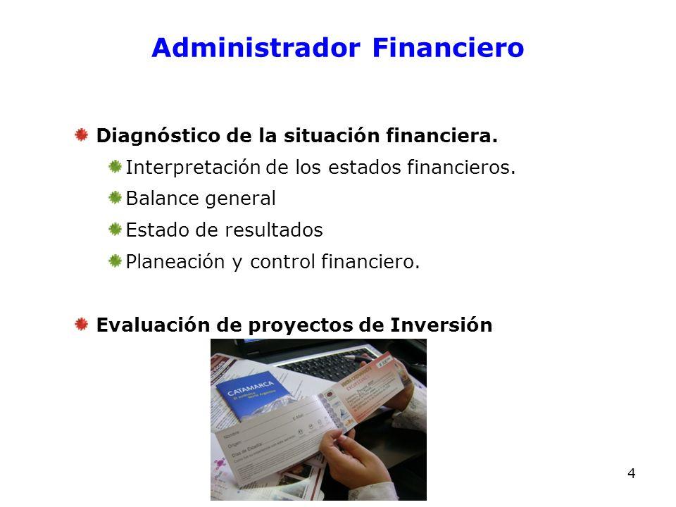 Administrador Financiero