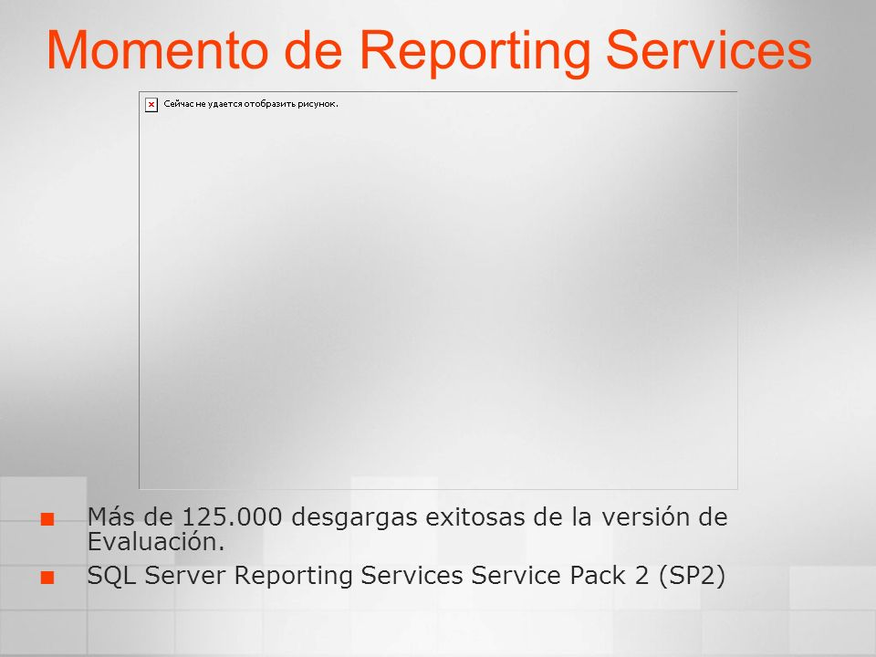 Momento de Reporting Services