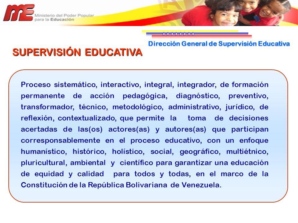 Direcci n general de supervisi n educativa ppt descargar for La accion educativa en el exterior