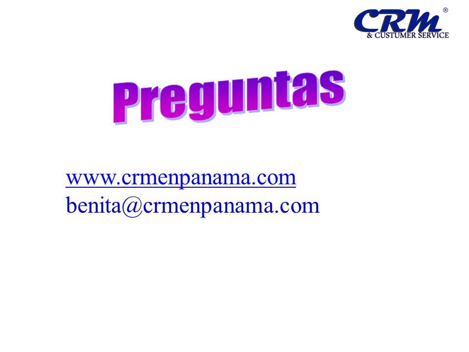 Preguntas www.crmenpanama.com benita@crmenpanama.com