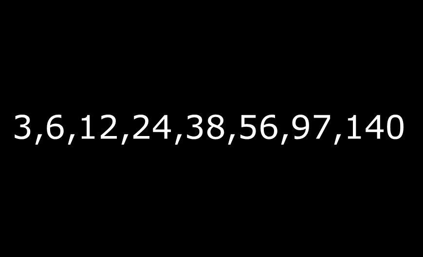 3,6,12,24,38,56,97,140 Entrevistas por mes
