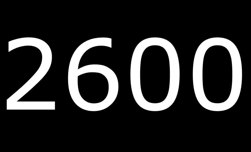 2600 Entrevistas por mes