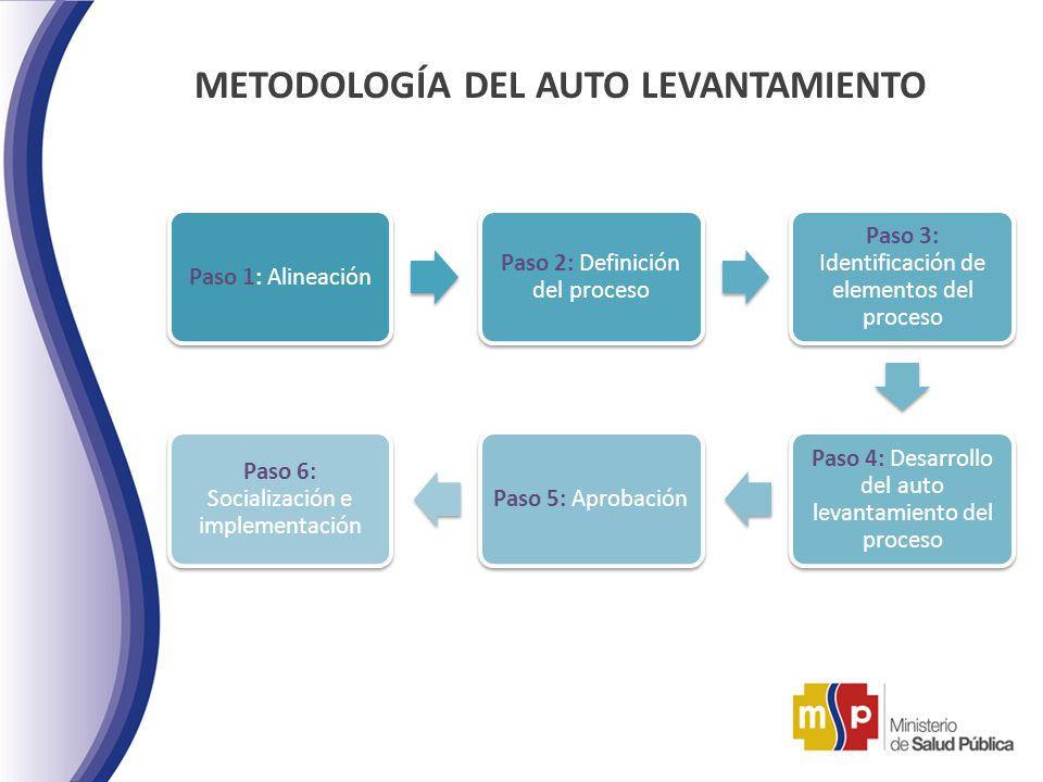 METODOLOGÍA DEL AUTO LEVANTAMIENTO
