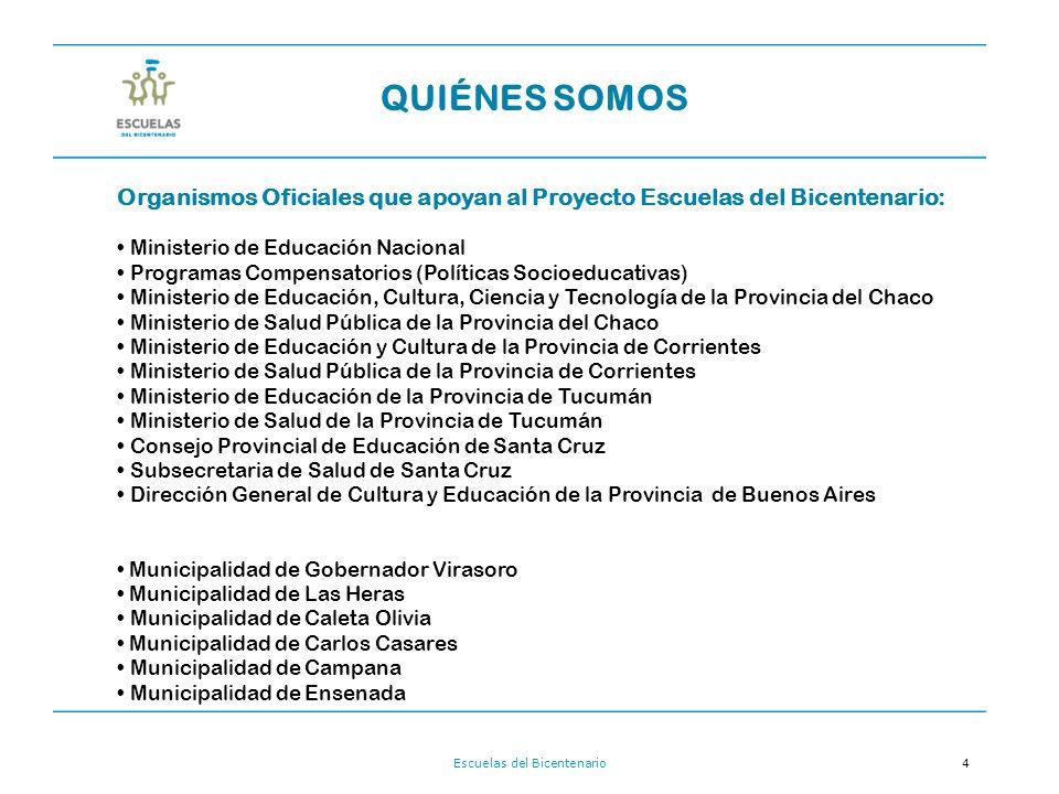 Escuelas del Bicentenario