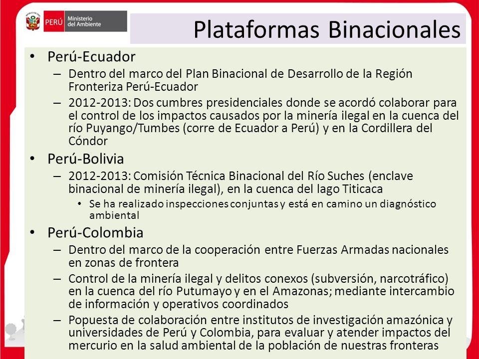 Plataformas Binacionales