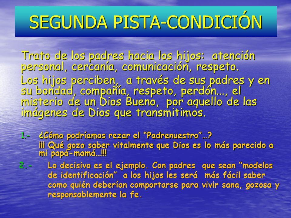 SEGUNDA PISTA-CONDICIÓN