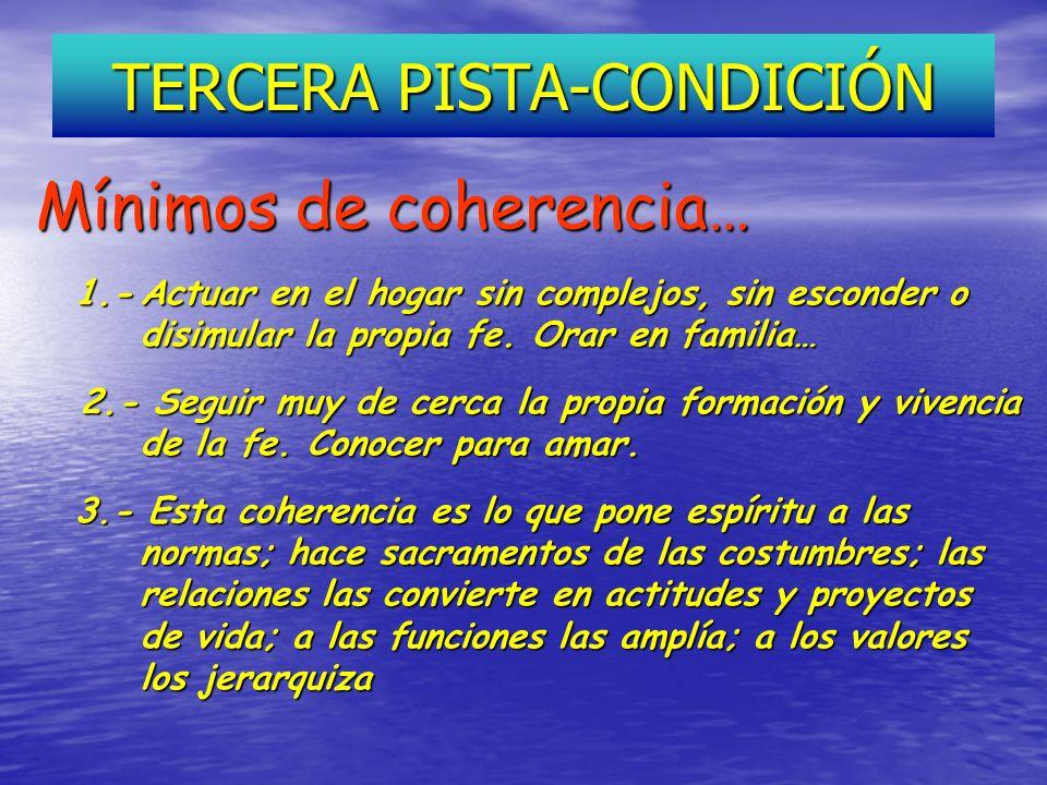 TERCERA PISTA-CONDICIÓN