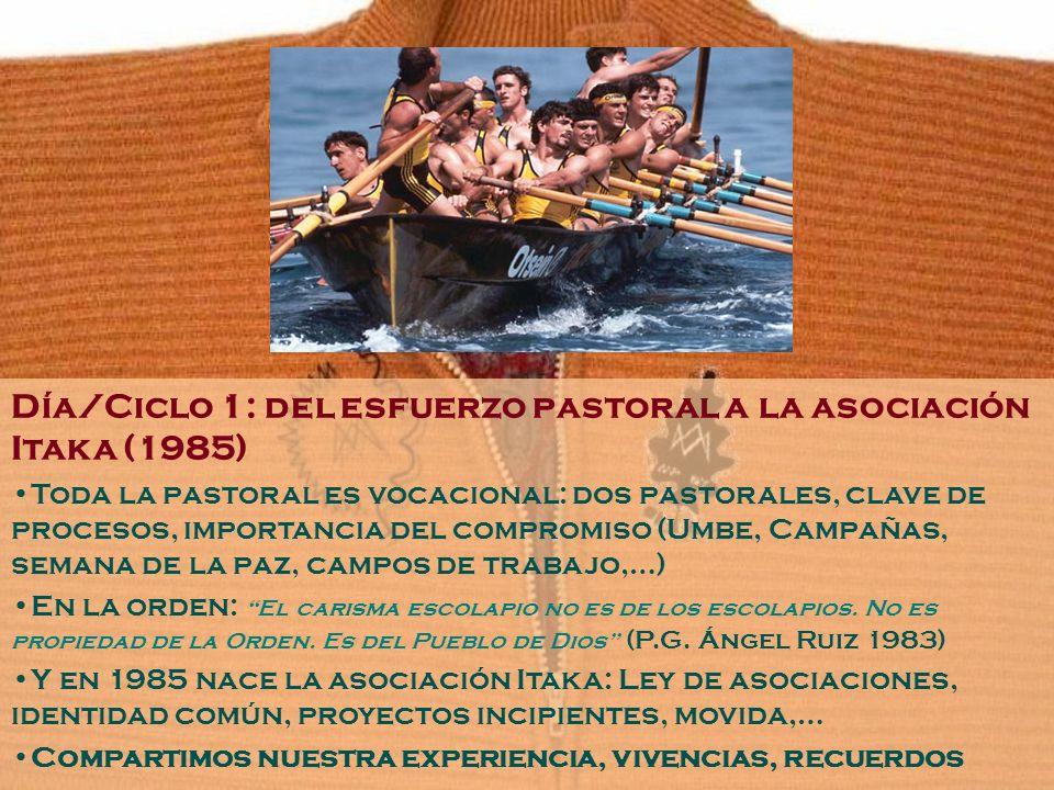 Día/Ciclo 1: del esfuerzo pastoral a la asociación Itaka (1985)