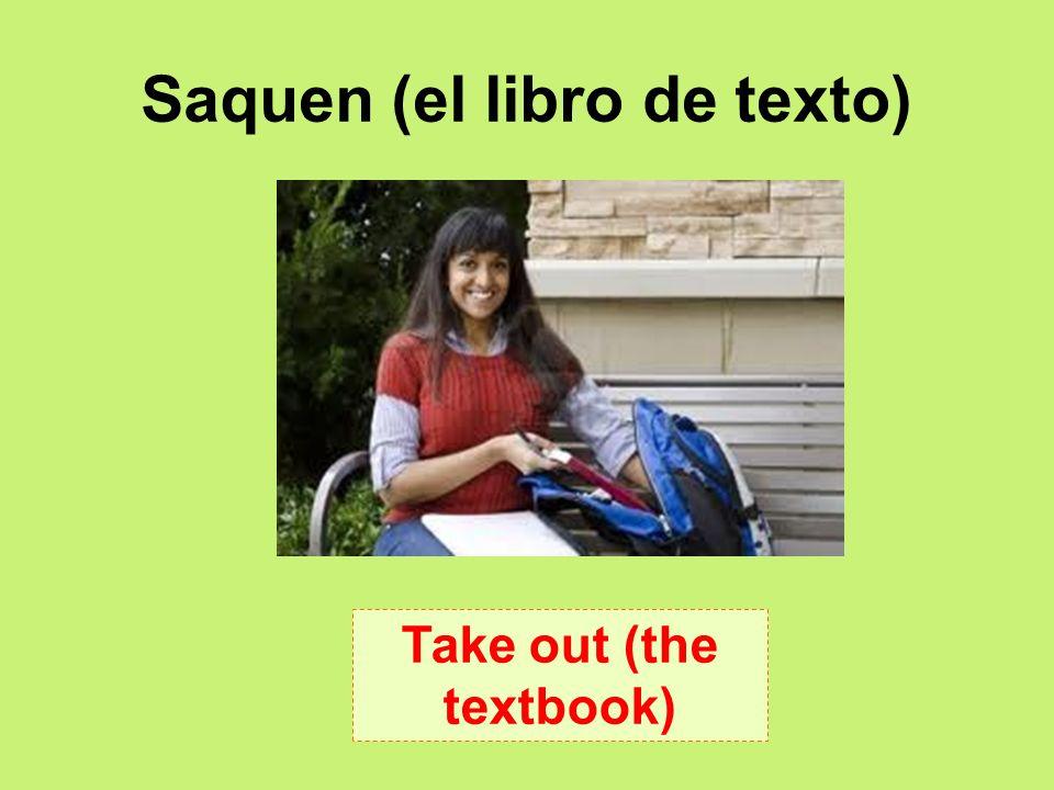 Saquen (el libro de texto)