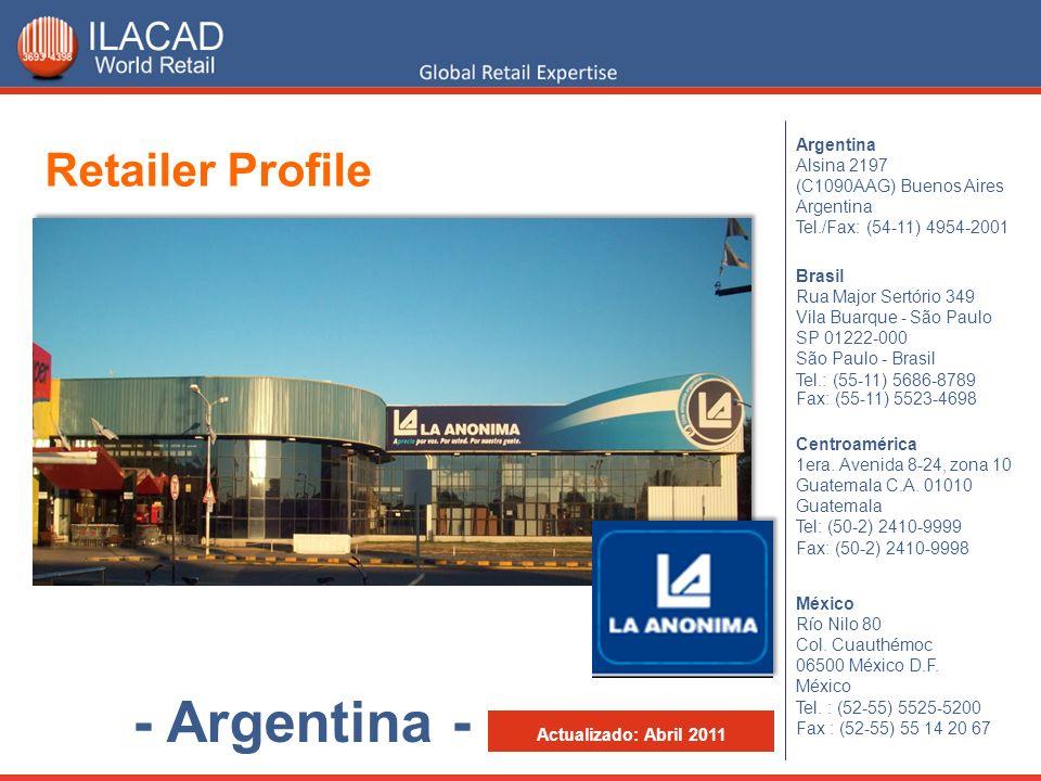 - Argentina - Retailer Profile Argentina