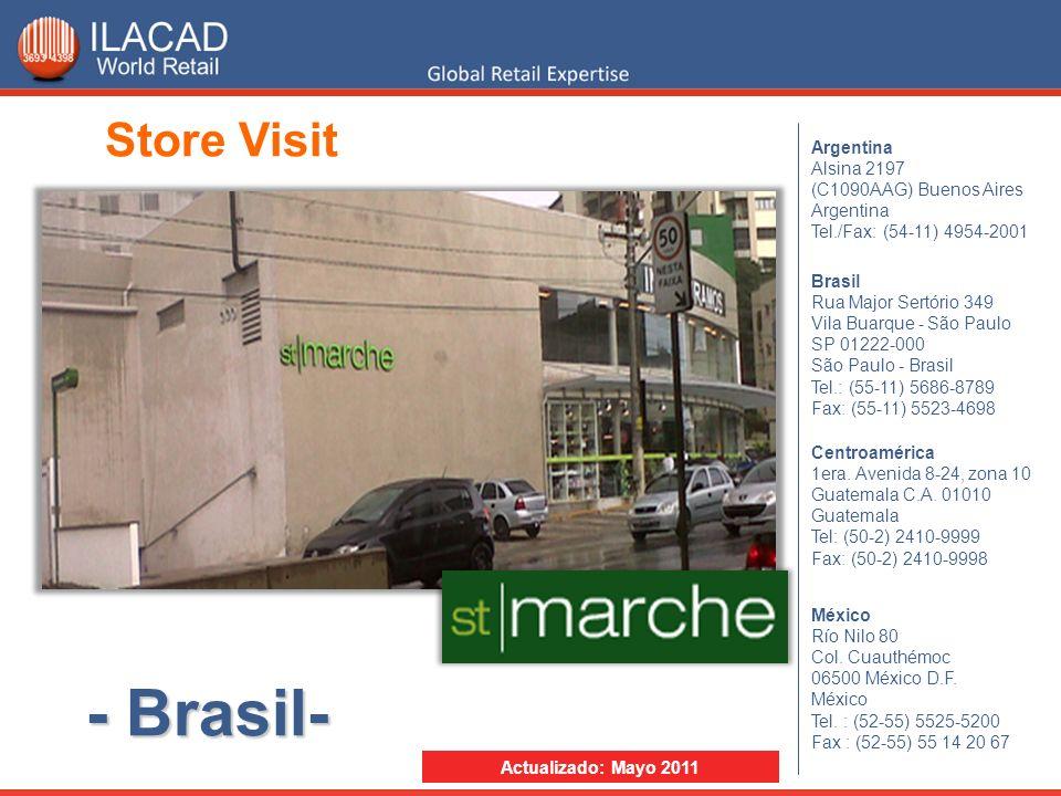 - Brasil- Store Visit Argentina