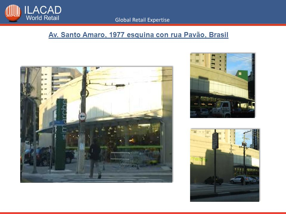 Av. Santo Amaro, 1977 esquina con rua Pavão, Brasil