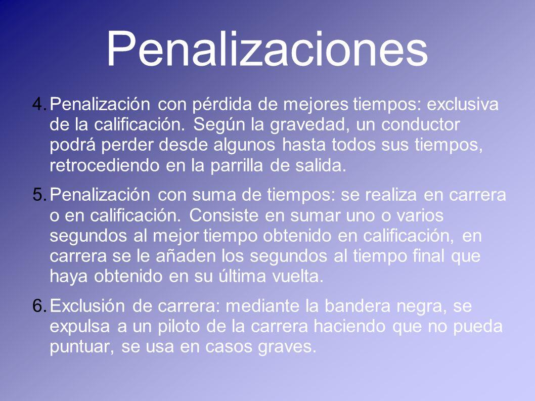 Penalizaciones