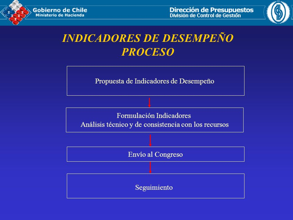 INDICADORES DE DESEMPEÑO PROCESO