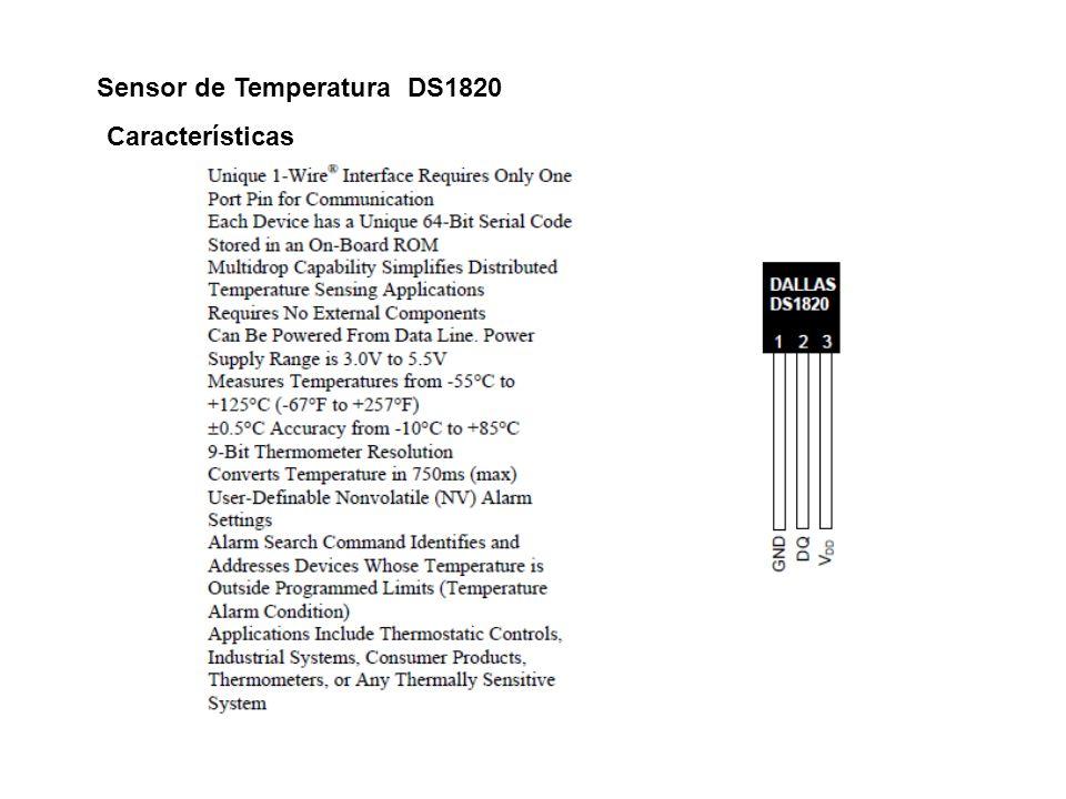 Sensor de Temperatura DS1820