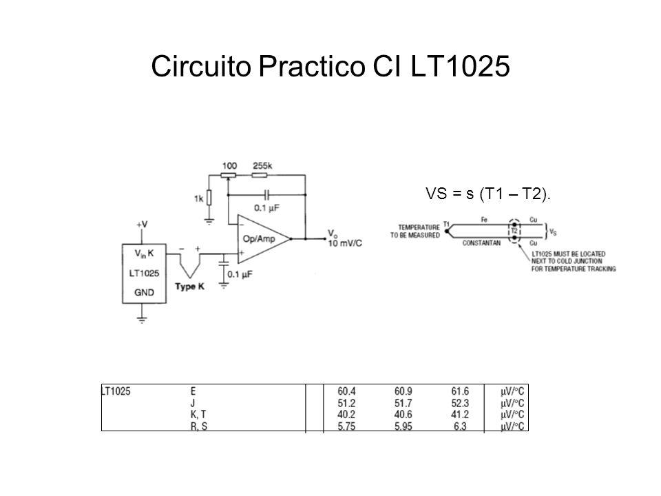 Circuito Practico CI LT1025
