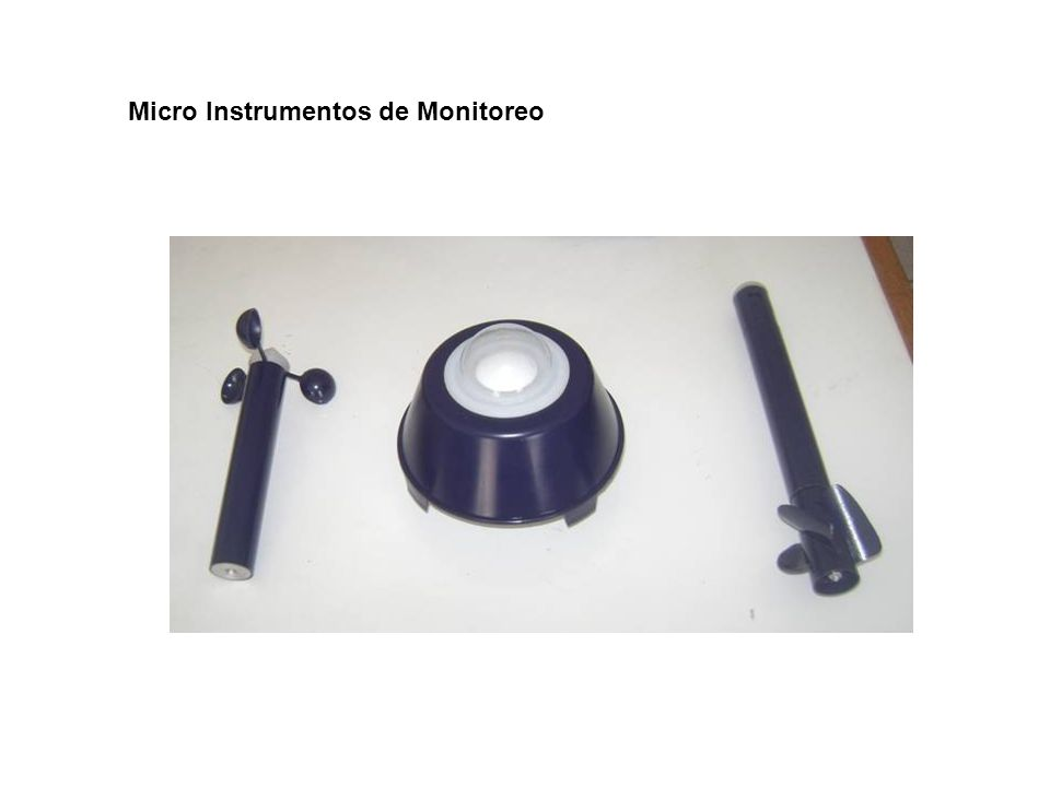 Micro Instrumentos de Monitoreo