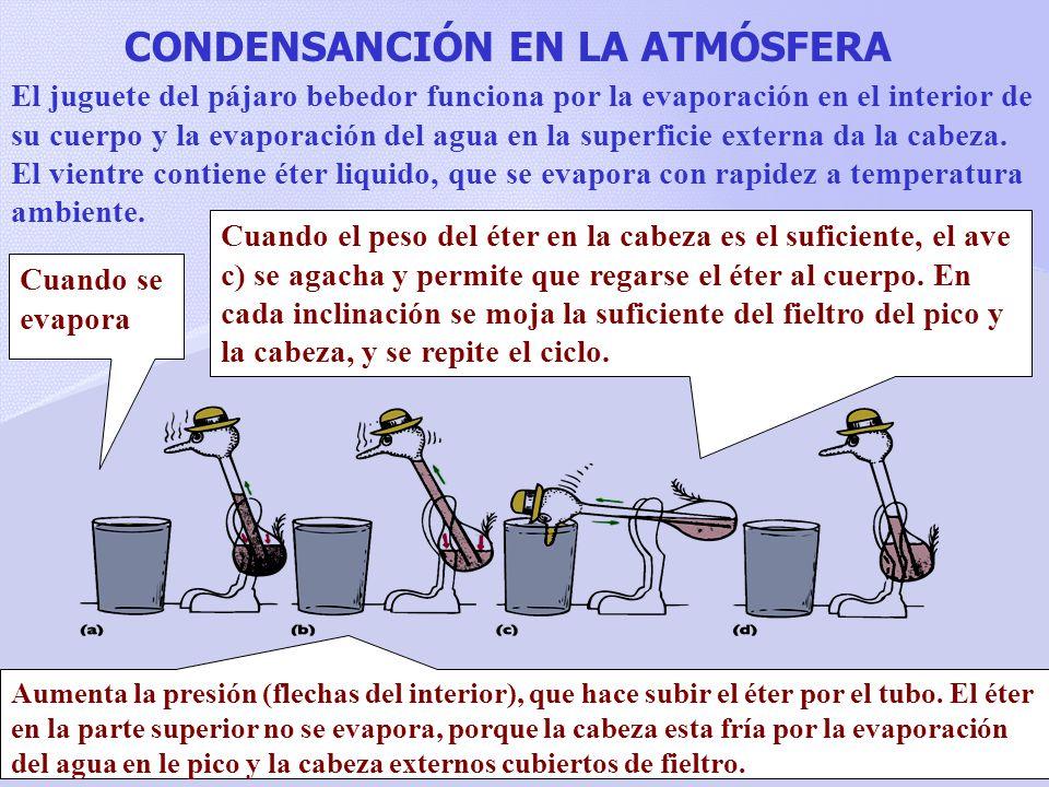 CONDENSANCIÓN EN LA ATMÓSFERA