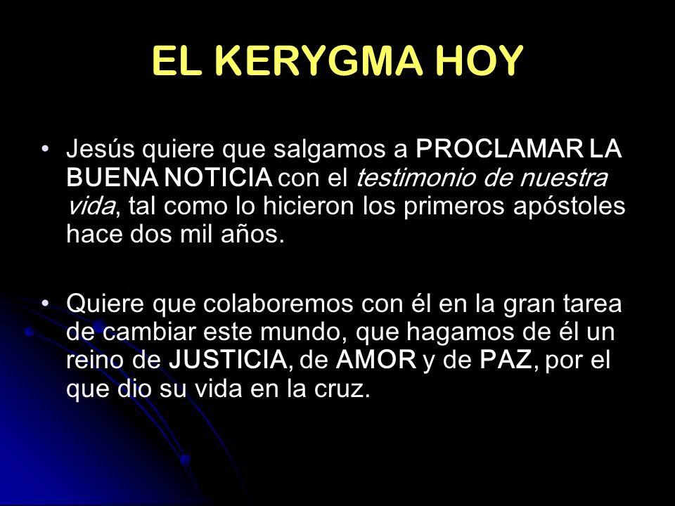 EL KERYGMA HOY