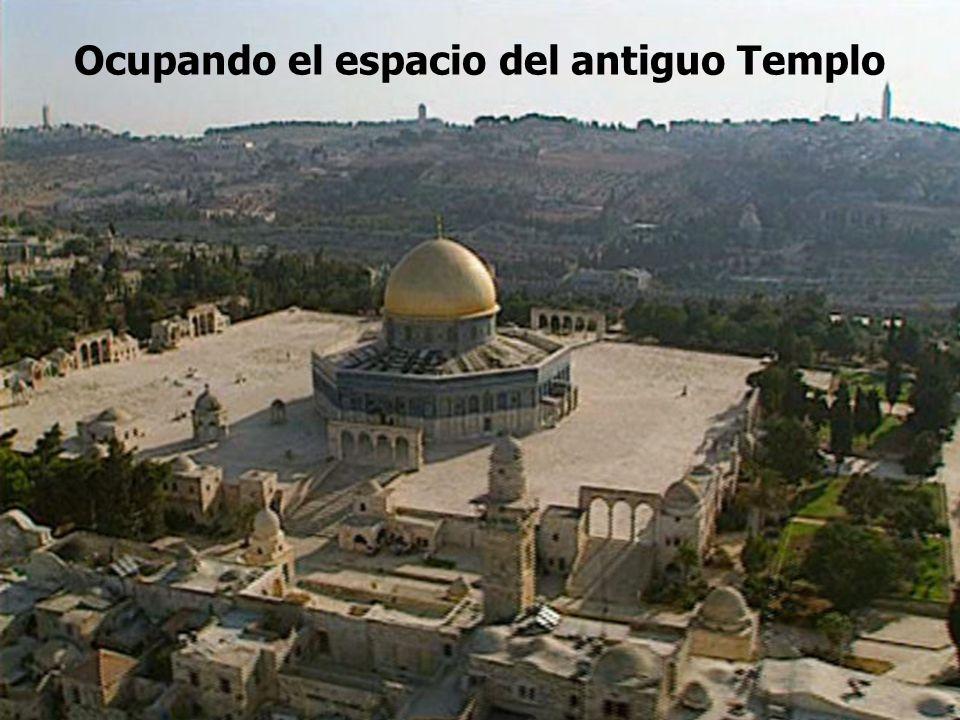 Ocupando el espacio del antiguo Templo