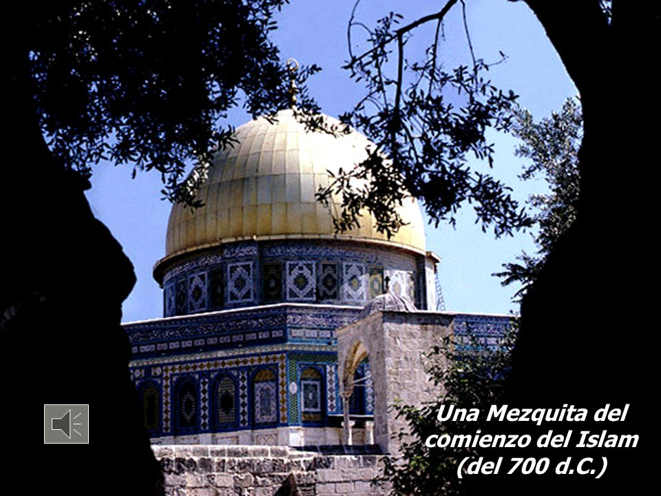 Una Mezquita del comienzo del Islam (del 700 d.C.)