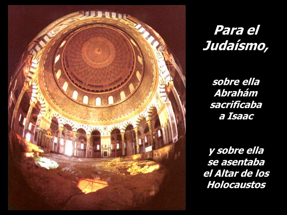 el Altar de los Holocaustos