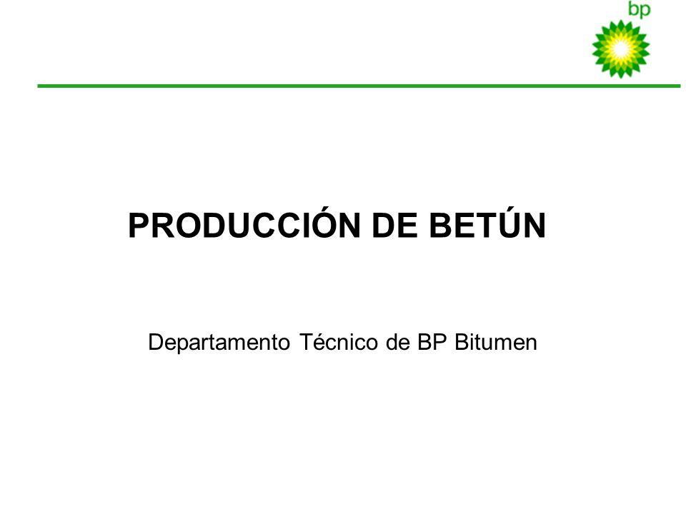 Departamento Técnico de BP Bitumen