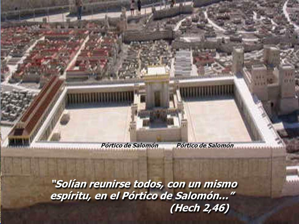 Pórtico de Salomón Pórtico de Salomón