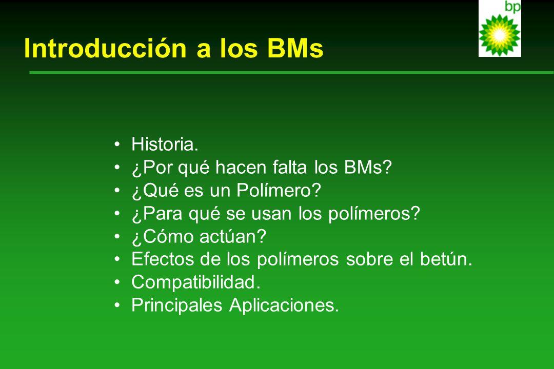 Introducción a los BMs Historia. ¿Por qué hacen falta los BMs