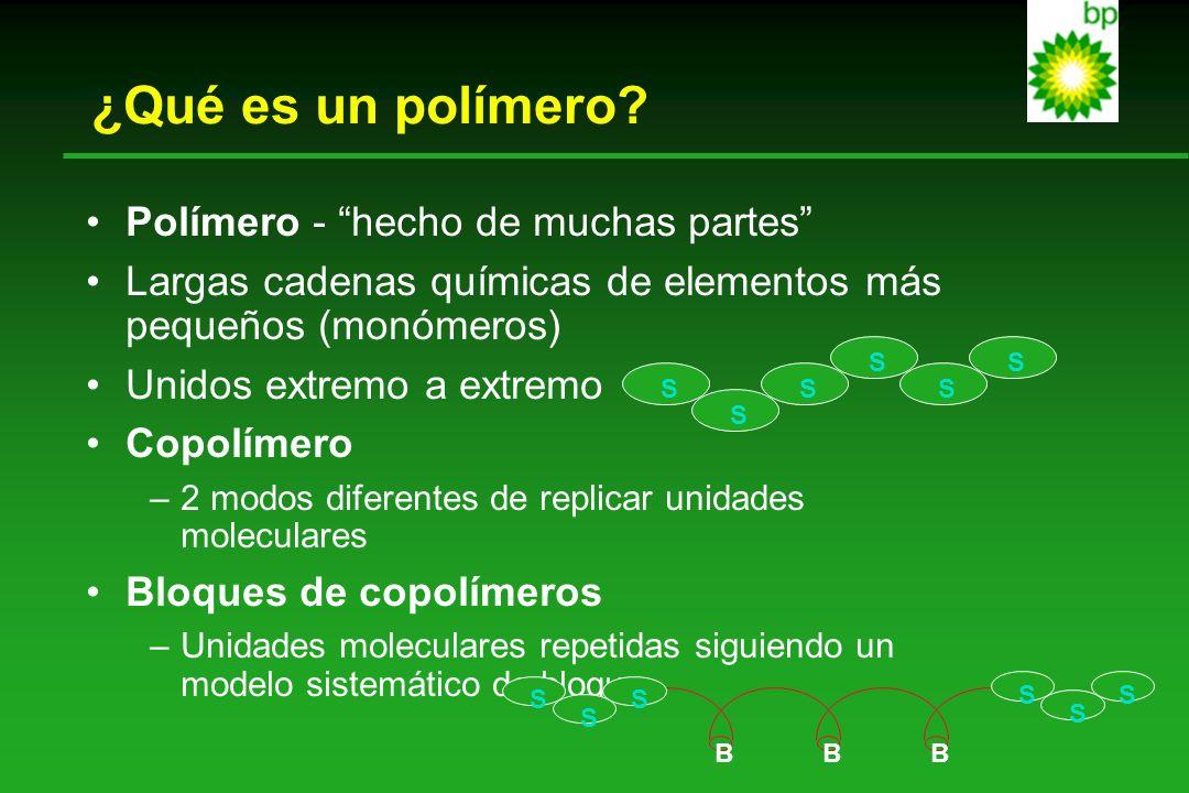 ¿Qué es un polímero Polímero - hecho de muchas partes