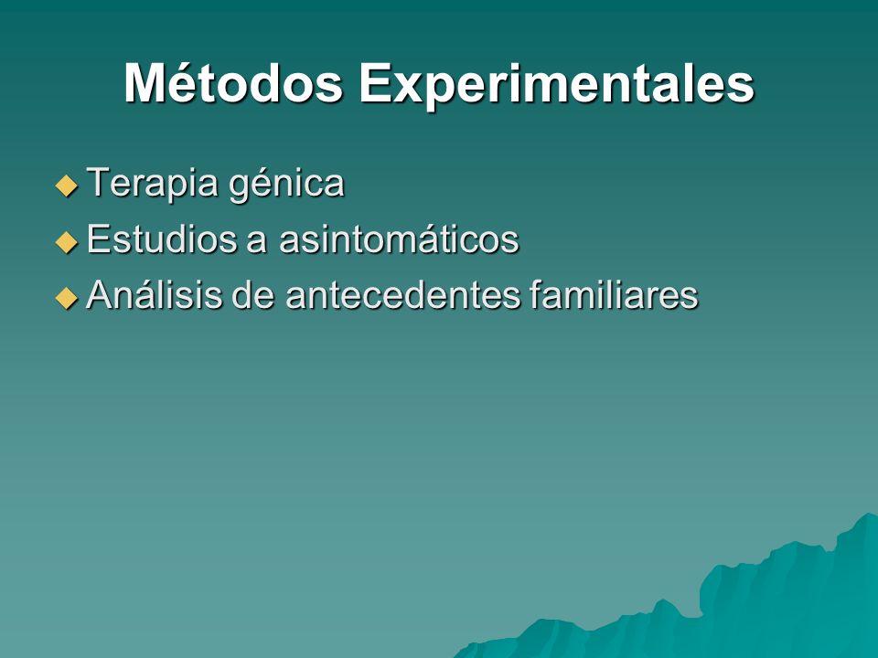Métodos Experimentales