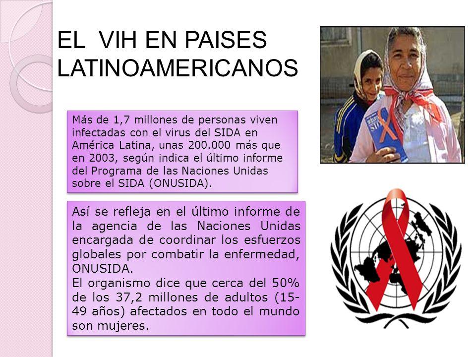 EL VIH EN PAISES LATINOAMERICANOS
